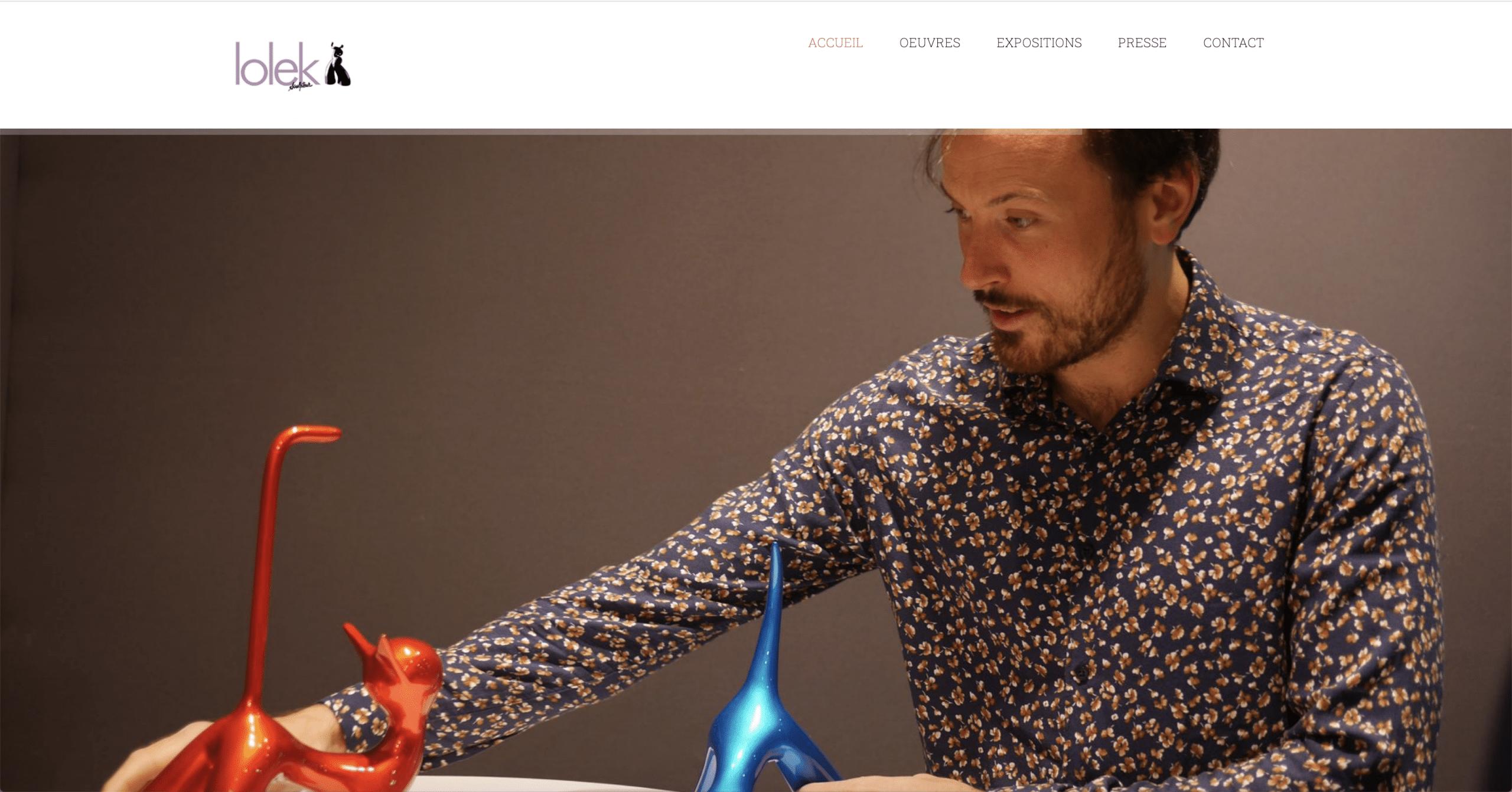 Lolek – Artiste Sculpteur